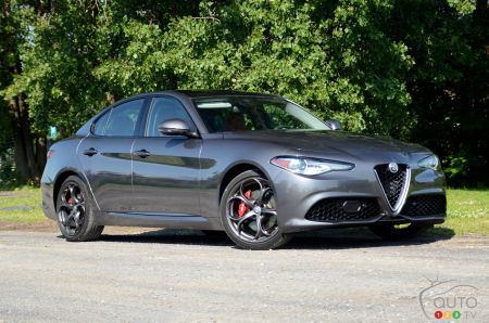 2017 alfa romeo giulia ti: review and pricing | car reviews | auto123