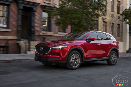 New Mazda CX-5 Adds More Tech for 2018, Including More Fuel-Efficient Engine
