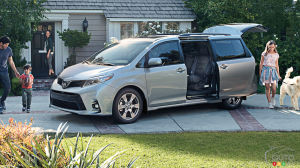 Toyota Sienna Dimensions >> 2018 Toyota Sienna Specifications Car Specs Auto123