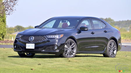 2018 Acura TLX A-Spec: Potential Not Fully Realized