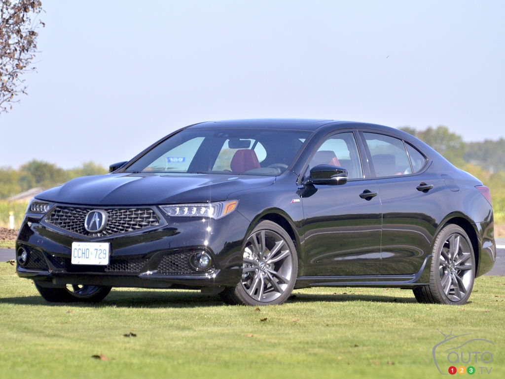 Acura TLX ASpec Review And Pricing Car Reviews Auto - Acura tsx 2018 engine