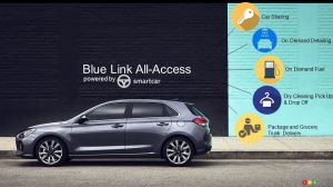 Los Angeles 2017 : Hyundai lance Blue Link All-Access et changera votre vie