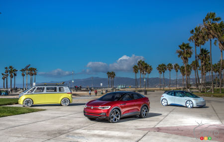 Los Angeles 2017: Volkswagen's First Electric SUV Lands in America