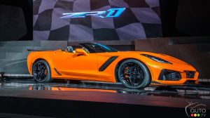 Los Angeles 2017: New 2019 Chevrolet Corvette ZR1 Goes Topless