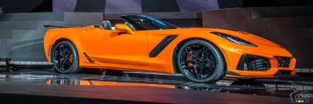 Los Angeles 2017 : la Chevrolet Corvette ZR1 2019 perd son toit