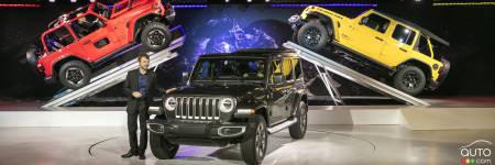 le jeep wrangler 2018 d voil encore le roi de la montagne industry auto123. Black Bedroom Furniture Sets. Home Design Ideas