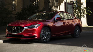 Los Angeles 2017: Premium-Focused 2018 Mazda6 Gets a Turbo and a Lot More
