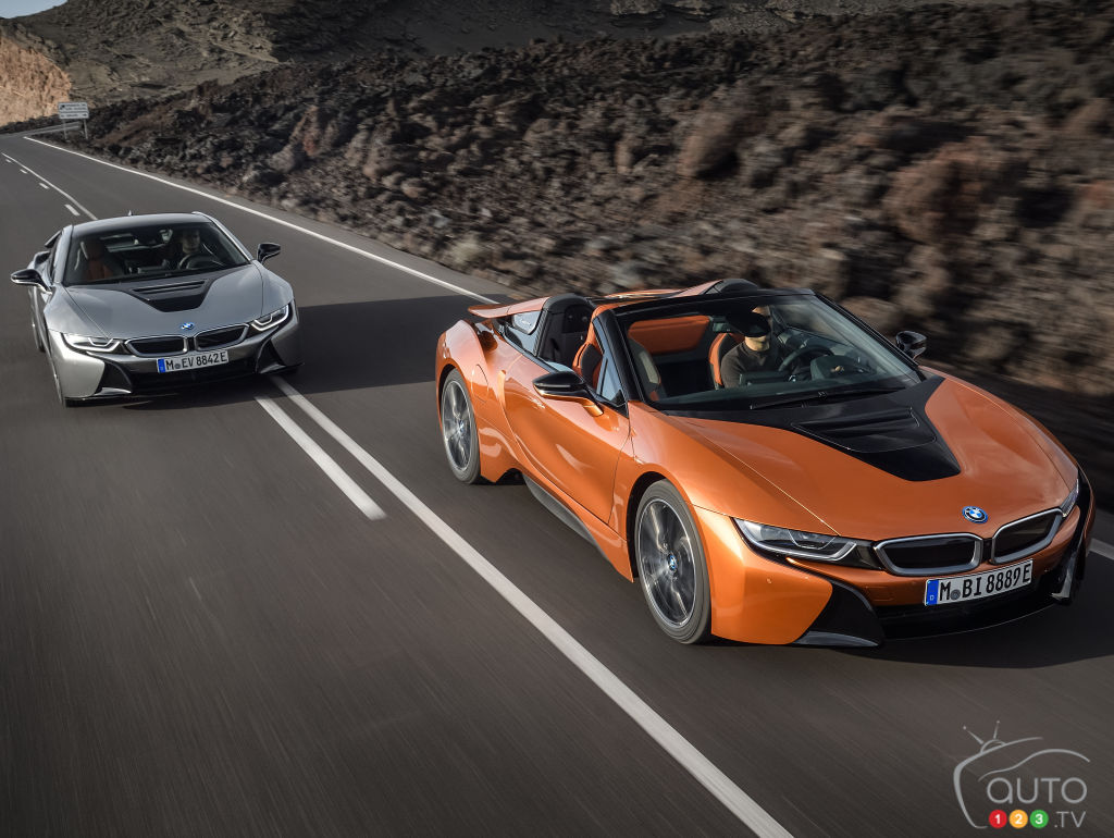 2019 Bmw I8 Coupe And I8 Roadster At Los Angeles Auto Show Car