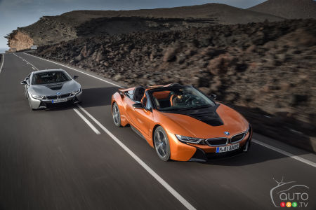 2019 Bmw I8 Coupe And I8 Roadster At Los Angeles Auto Show
