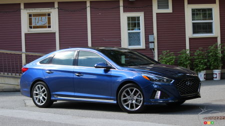 2018 Hyundai Sonata 2.0T Sport Dressed and Geared for Renewed Battle