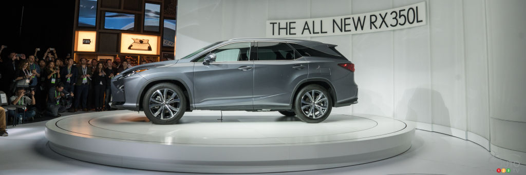 Los Angeles 2017: Lexus RX L Thinking Big with 3 Rows of Seats
