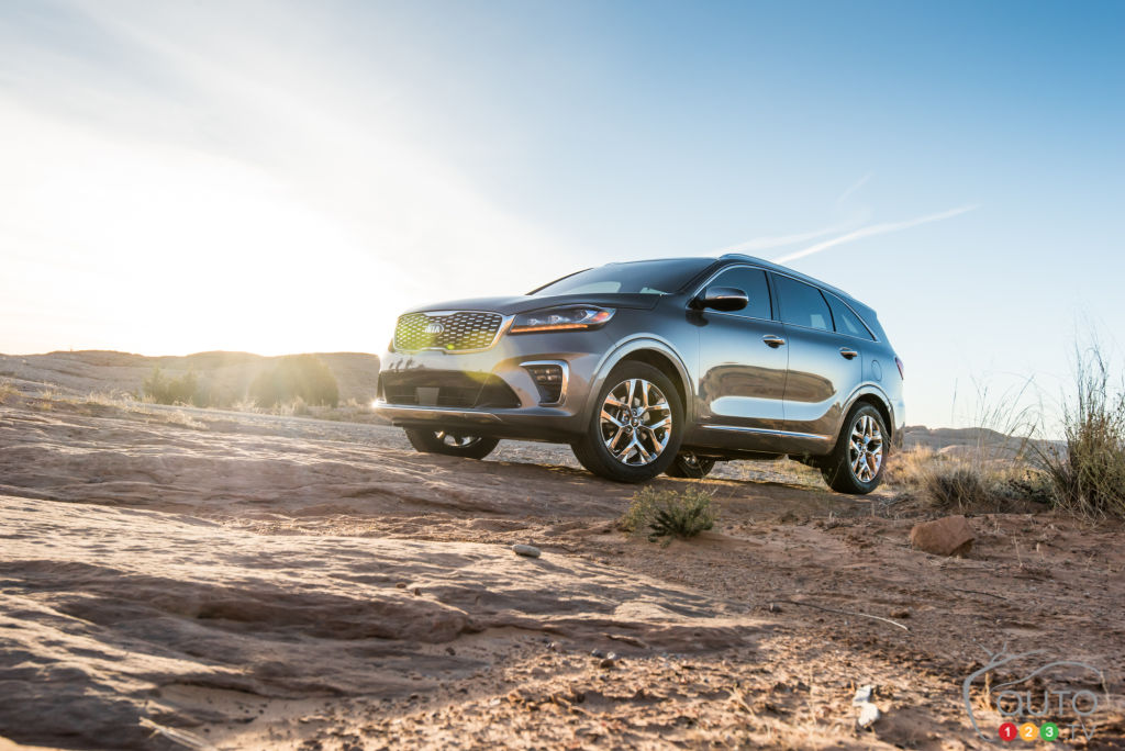Los Angeles 2017: 2019 Kia Sorento now an off-road driving specialist?