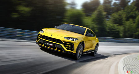 2019 Lamborghini Urus Debuts as World's Fastest SUV