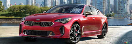 la kia stinger notre voiture interm diaire de l ann e 2018 actualit s automobile auto123. Black Bedroom Furniture Sets. Home Design Ideas
