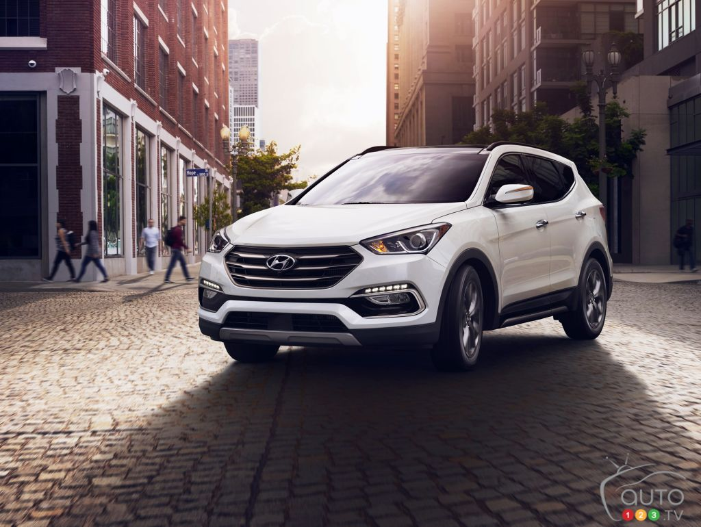 2018 Hyundai Santa Fe Sport, winner of a Top Safety Pick+ award