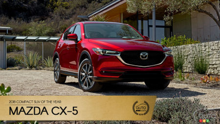 Mazda CX-5, Auto123.com's 2018 Compact SUV of the Year