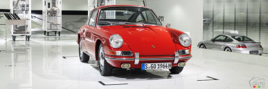 Check out the Oldest Porsche 911 at the Porsche Museum