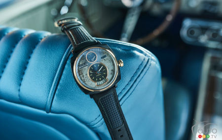Christmas Gift Ideas: Luxury Watches Made From Classic Mustang Parts