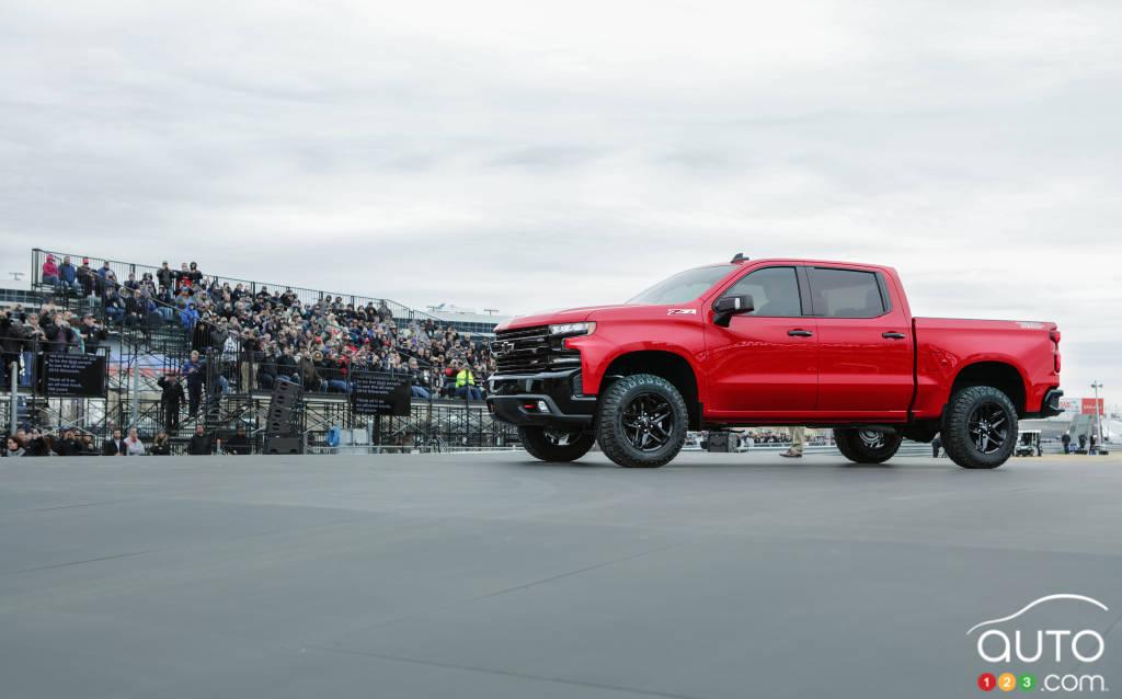 Le camion Chevrolet Silverado 2019 se dévoile : un aperçu ...