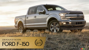 Ford F-150, Auto123.com's Pickup of the Year