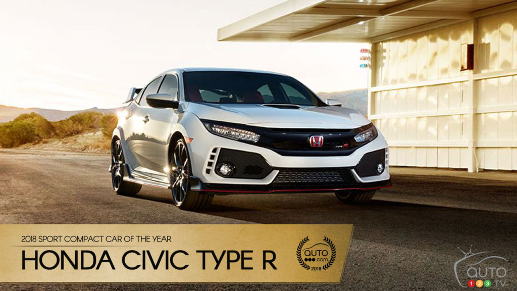 Honda Civic Type R, Auto123.comu0027s 2018 Sport Compact Car Of The Year