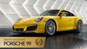 Porsche 911, Auto123.com's 2018 Sport Car of the Year