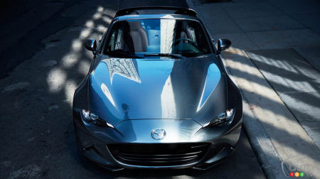 Mazda MX-5 RF, Auto123.com's 2018 Convertible of the Year