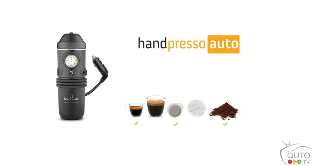 Christmas Gift Ideas: Portable Espresso Machine for the Car