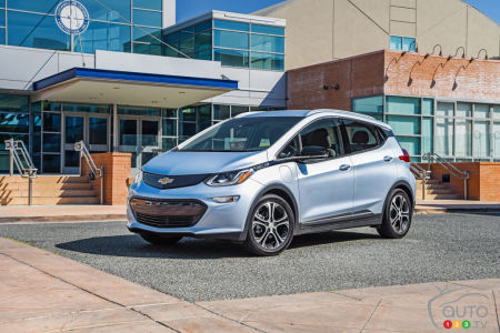 Chevrolet Bolt EV, Auto123.com's Green Vehicle of the Year