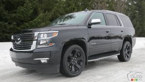 2017 Chevy Tahoe Premier Review