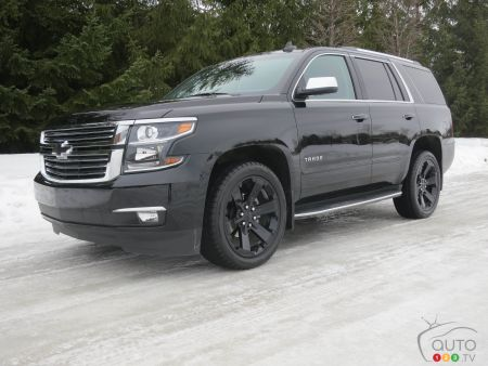 2017 Chevy Tahoe Premier and its clones | Car Reviews | Auto123