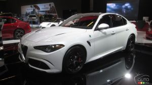"Alfa Romeo Giulia named ""Most Beautiful Car of the Year"" at International Automobile Festival"