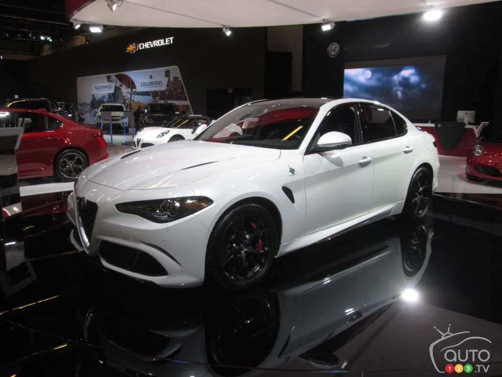 L'Alfa Romeo Giulia élue « Plus belle voiture de l'année » au Festival automobile international