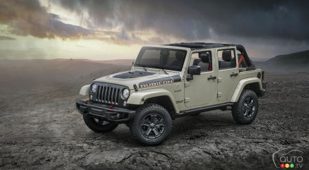 le jeep wrangler rubicon recon 2017 arrive ce mois ci. Black Bedroom Furniture Sets. Home Design Ideas