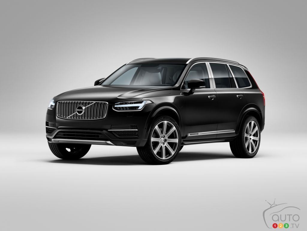 Chicago 2017: Volvo XC90 Excellence plug-in hybrid combines luxury with efficiency (video)