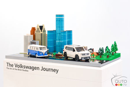 Chicago 2017: LEGO Volkswagen Atlas on display, special Weekend Edition launched