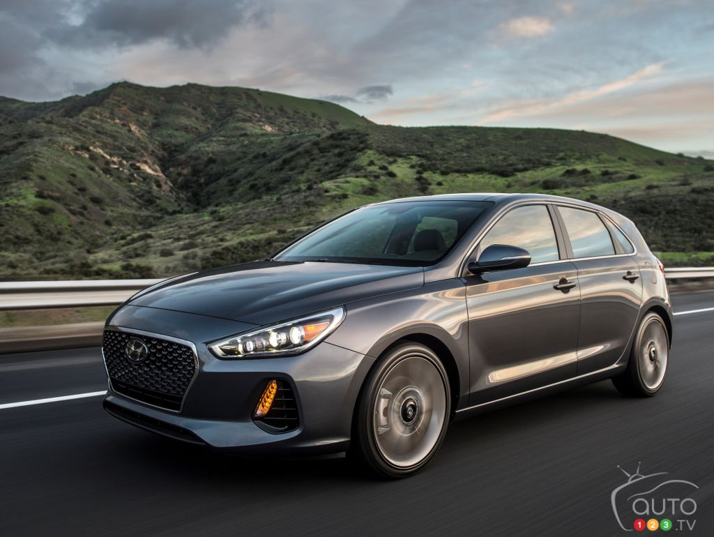 The all-new 2018 Hyundai Elantra GT