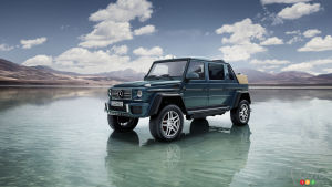 Mercedes-Maybach G 650 Landaulet, the world's most exclusive convertible (video)