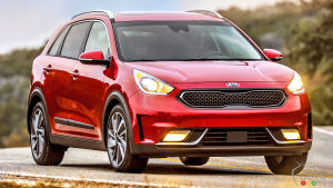 The new 2017 Kia Niro