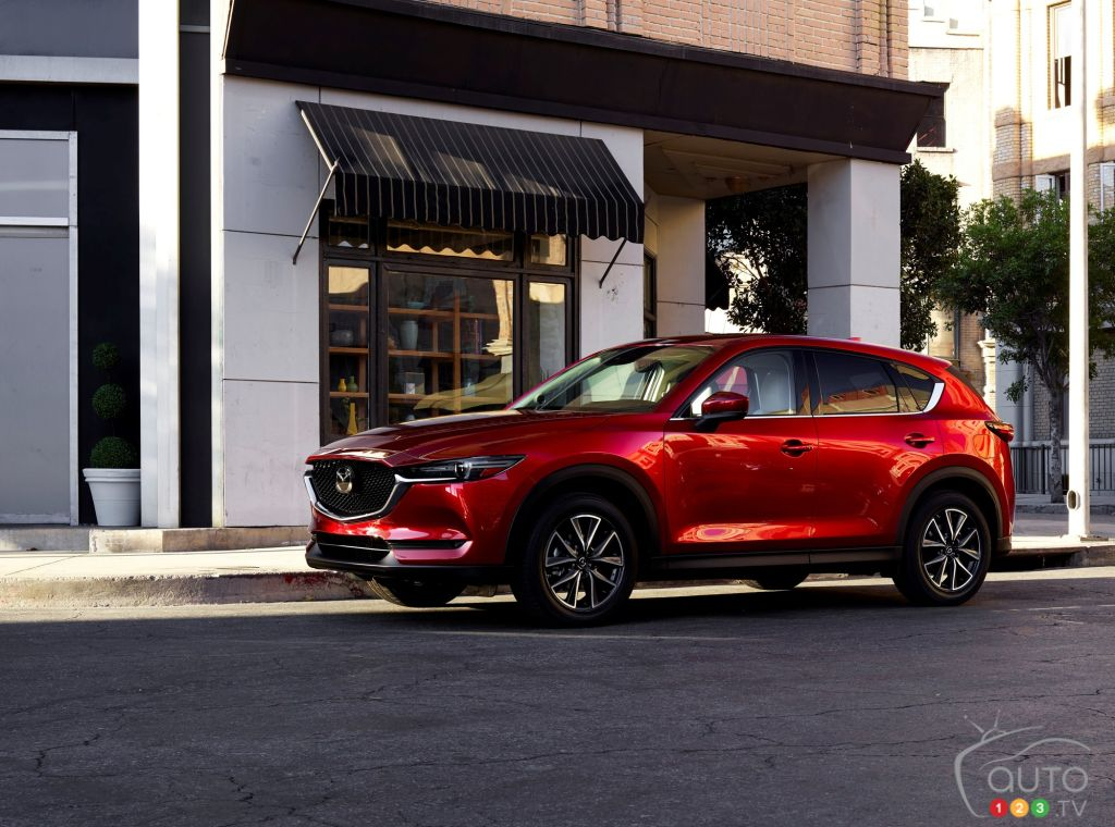 Toronto 2017: All-new Mazda CX-5 makes Canadian debut (video)