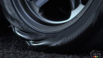 The 2018 Dodge Challenger SRT Demon's tires react to torque loads at launch
