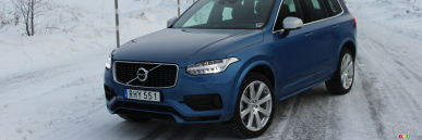 2017 Volvo XC90 T8 R-Design First Drive