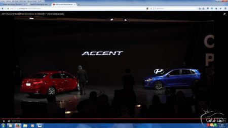 Toronto 2017: Unveiling of the 2018 Hyundai Accent (video)