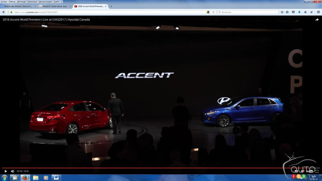 Toronto 2017: See The All New 2018 Hyundai Accent Make Its World  Debut(video)