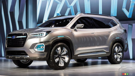 Toronto 2017: Get a closer look at Subaru's future midsize SUV (video)
