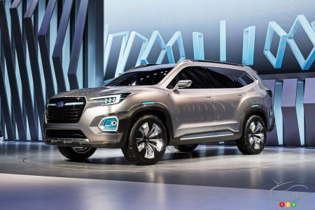 Toronto 2017 Get A Closer Look At Subaru S Future Midsize Suv Video