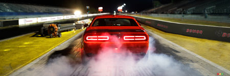 La Dodge Challenger SRT Demon 2018 aura un mode « Drag »