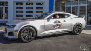 Don't miss the new 2017 Chevy Camaro ZL1 pace Sunday's Daytona 500!