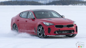 All-new Kia Stinger is built to handle winter