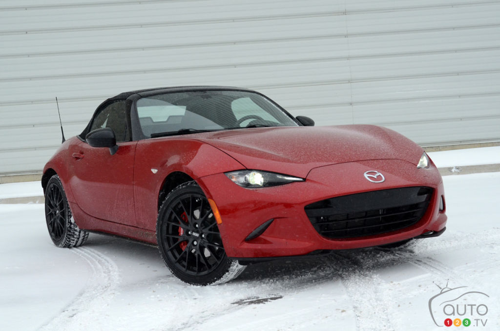 Mazda MX-5 in the Snow: Vincent Aubé's View